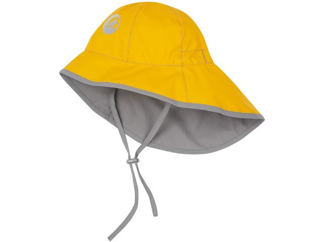 Finkid Tihku Hat Kinder yellow/storm